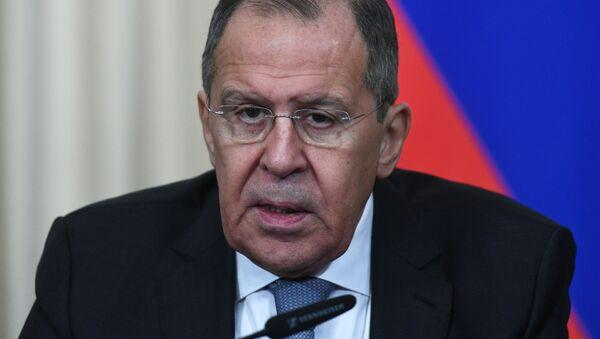Министр иностранных дел России Сергей Лавров - Sputnik Ўзбекистон