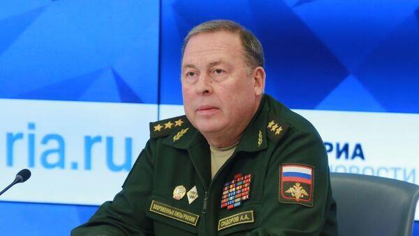 Начальник Объединенного штаба ОДКБ, генерал-полковник Анатолий Сидоров - Sputnik Узбекистан