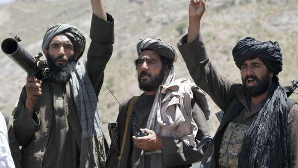 Боевики движения Талибан - Sputnik Ўзбекистон