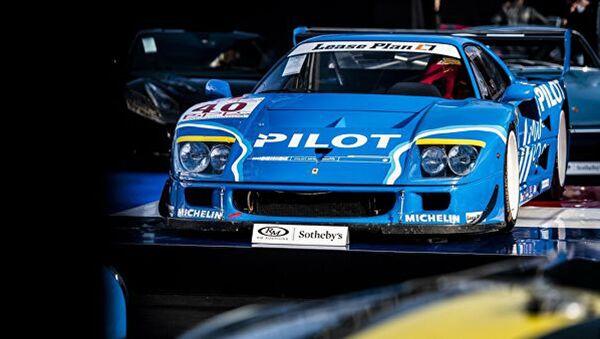 Редкий гоночный Ferrari 1987 года продали на аукционе за 4,3 миллиона евро - Sputnik Ўзбекистон