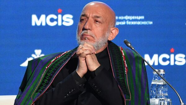 Бывший президент Афганистана Хамид Карзай - Sputnik Ўзбекистон