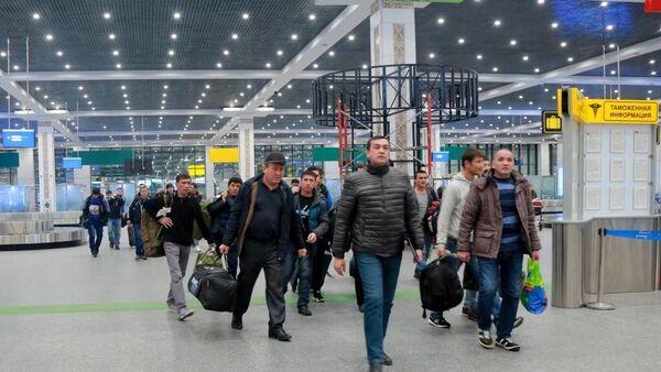 Трудовые мигранты возвращаются домой - Sputnik Ўзбекистон