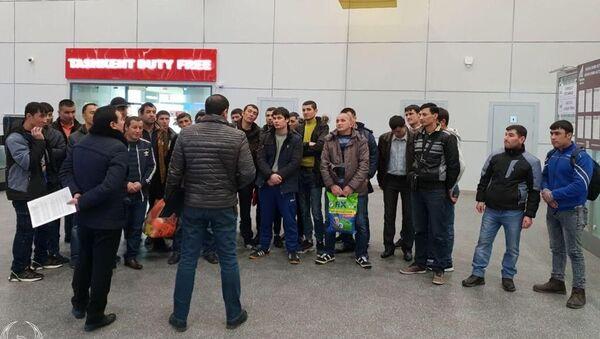 Vozvraщeniye trudovыx migrantov iz Uzbekistana na rodinu - Sputnik Oʻzbekiston
