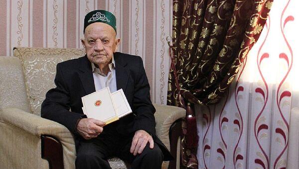 Татарстан поздравил 100-летнего узбекистанца - Sputnik Узбекистан