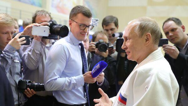 Rabochaya poyezdka prezidenta RF V. Putina  v Sochi - Sputnik Oʻzbekiston