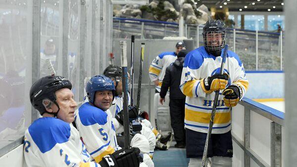 Игроки хоккейного клуба Хумо - Sputnik Узбекистан