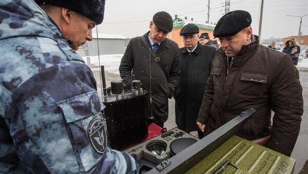 Делегация Нацгвардии Узбекистана с коллегами из Росгвардии - Sputnik Ўзбекистон
