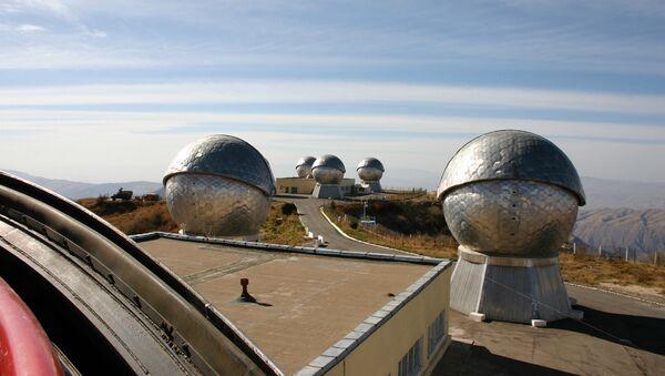 Оптико-электронный узел космического слежения Таджикистане - Sputnik Ўзбекистон