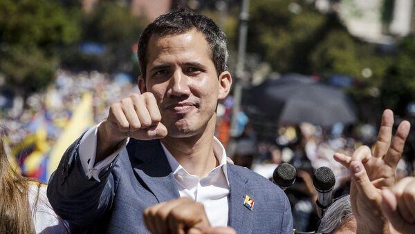 Спикер парламента Венесуэлы и лидер оппозиции Хуан Гуаидо - Sputnik Ўзбекистон