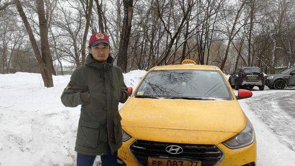 Нурсултан Кайназаров, таксист - Sputnik Ўзбекистон