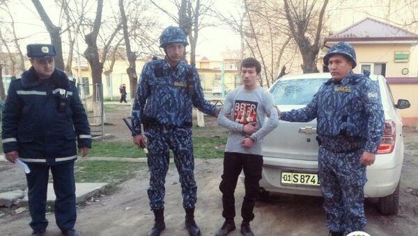 В Ташкенте задержали ранее судимого угонщика - Sputnik Ўзбекистон