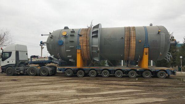 Оборудование для завода GTL в Кашкадарьинской области - Sputnik Ўзбекистон