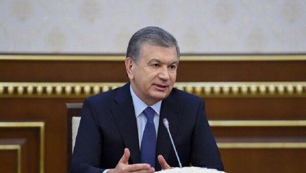 Шавкат Мирзиёев принял делегацию Всемирного банка - Sputnik Ўзбекистон