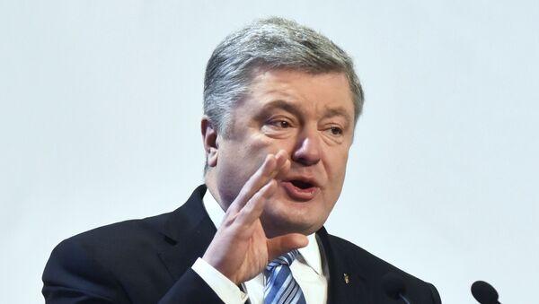 Предвыборная поездка П. Порошенко во Львовскую область - Sputnik Ўзбекистон