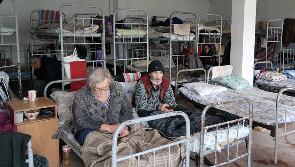 Жители приюта для бездомных в Ташкенте. - Sputnik Ўзбекистон