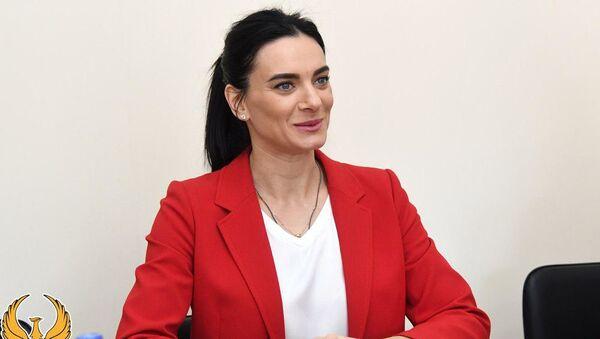 Yelena Isinbayeva v Uzbekistane - Sputnik Oʻzbekiston