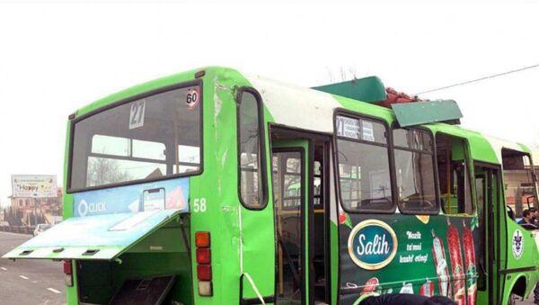 Avtobus perevernulsya v Tashkente - Sputnik Oʻzbekiston