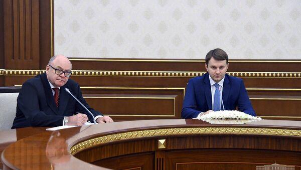 Президент Республики Узбекистан принял министра экономического развития Российской Федерации - Sputnik Ўзбекистон