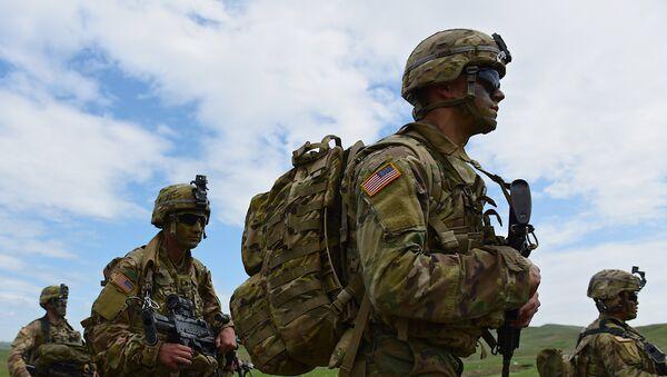 Совместные военные учения вооруженных сил Грузии и США Достойный партнёр - Sputnik Узбекистан