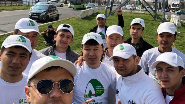 V Tashkente proxodit aktsiya-festival Yashil tashabbus (Zelenaya initsiativa/Green Initiative) - Sputnik Oʻzbekiston