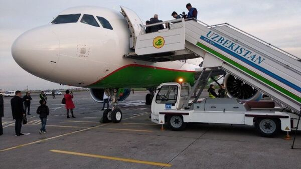 Novыy Airbus A320neo Uzbekskix avialiniy - Sputnik Oʻzbekiston
