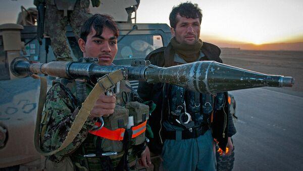 Афганские военные с ПЗРК - Sputnik Ўзбекистон