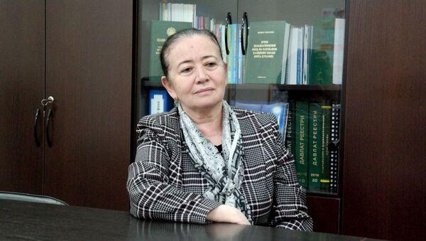 Эльмира Баситханова, заместитель министра здравохранения - Sputnik Ўзбекистон
