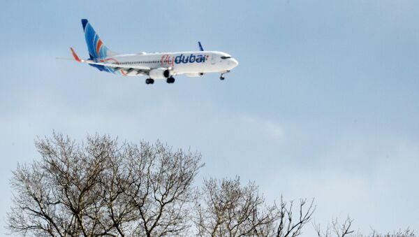Самолет Boeing 737-800 авиакомпании FlyDubai - Sputnik Узбекистан