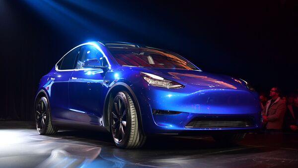 Tesla predstavila Model Y - Sputnik Oʻzbekiston