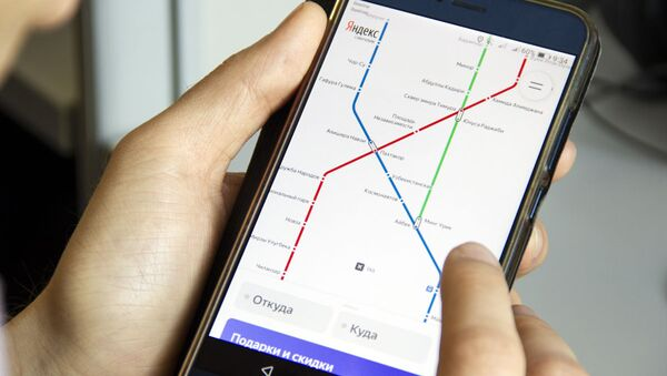 Сервис Яндекс метро начал работать в Ташкенте - Sputnik Ўзбекистон