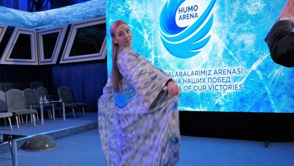 Figuristka Tatyana Navka  - Sputnik Oʻzbekiston