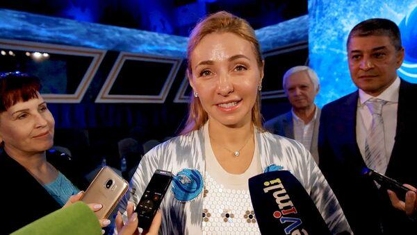 Tatyana Navka pojelala uzbekistantsam zdorovya i uspexov v sporte - Sputnik Oʻzbekiston