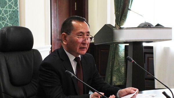 Заместитель министра финансов Узбекистана Ёркин Турсунов - Sputnik Узбекистан