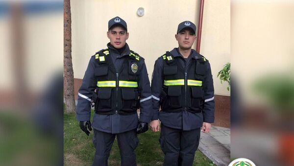 Inspektorы DPS Tashkenta primerili novuyu formu - Sputnik Oʻzbekiston