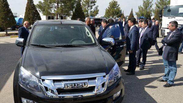 V Samarkande mogut naladit proizvodstvo ISUZU D-MAX - Sputnik Oʻzbekiston