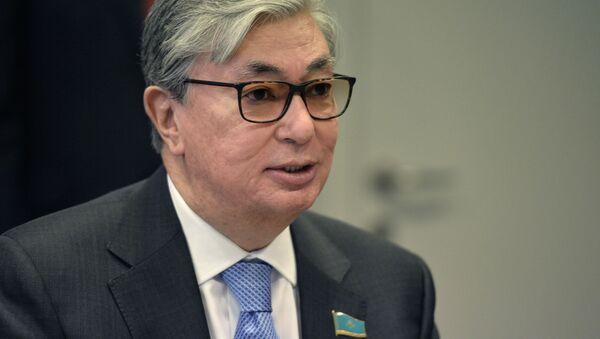 Президент Казахстана Касым-Жомарт Токаев - Sputnik Ўзбекистон