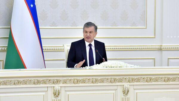 Президент Узбекистана Шавкат Мирзиёев - Sputnik Узбекистан