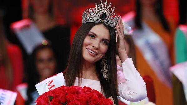 Победительница конкурса красоты Мисс Москва 2018 Алеся Семеренко - Sputnik Ўзбекистон