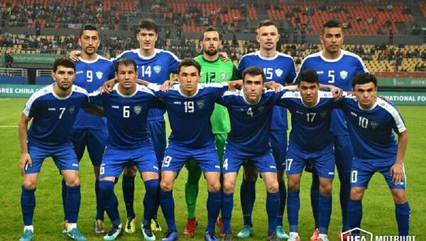 Сборная Узбекистана по футболу на China Cup 2019 - Sputnik Ўзбекистон