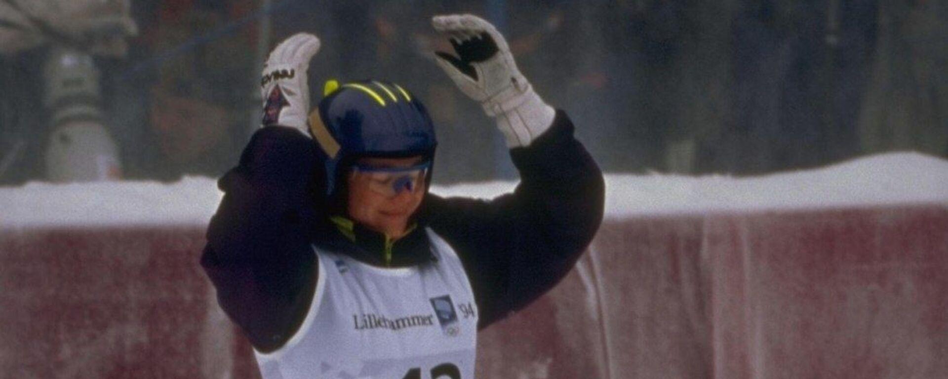 Единственная зимняя олимпийская чемпионка Узбекистана Лина Черязова - Sputnik Узбекистан, 1920, 25.03.2019
