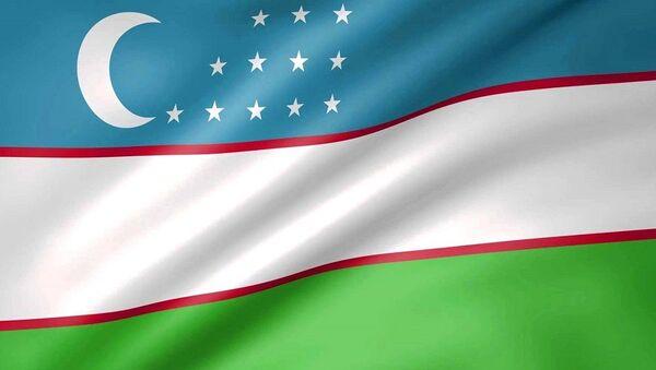 Проекция узбекского флага на самый высокий небоскреб мира - Sputnik Узбекистан