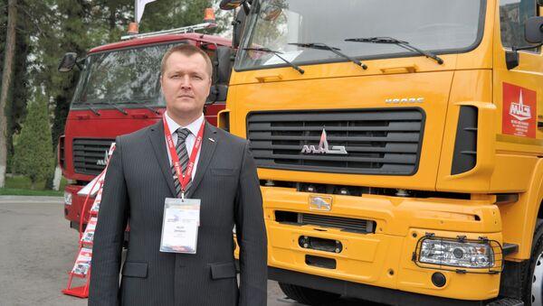 Direktor IP OOO MAZ-Tashkent Valeriy Jigunov - Sputnik Oʻzbekiston