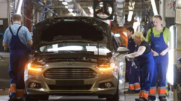 Proizvodstvo novoy modeli Ford Focus vo Vsevolojske - Sputnik Oʻzbekiston