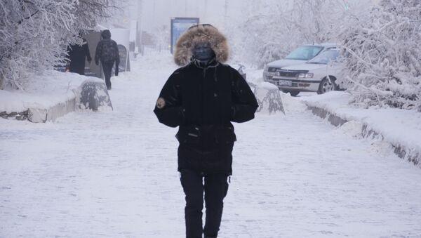 Сильные морозы в Якутии - Sputnik Узбекистан