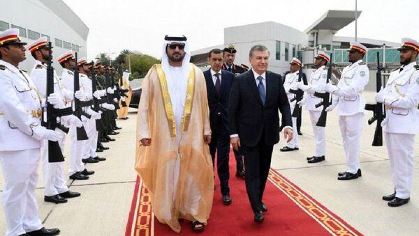 Шавкат Мирзиёев завершил официальный визит в ОАЭ - Sputnik Ўзбекистон
