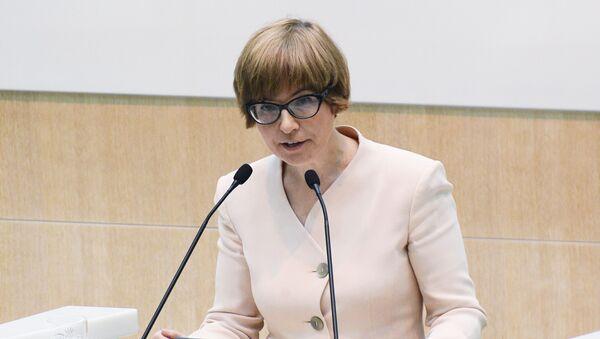 Первый заместитель председателя Центрального банка РФ Ксения Юдаева  - Sputnik Узбекистан