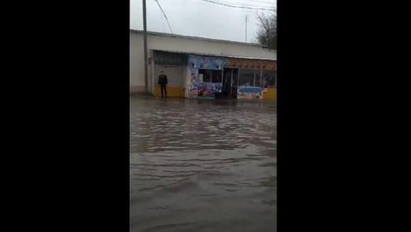 Потоп в Самарканде - Sputnik Ўзбекистон