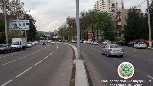 На улице Мирабад в Яккасарайском районе Ташкента был установлен стационарный радар, фиксирующий нарушения скоростного режима - Sputnik Узбекистан