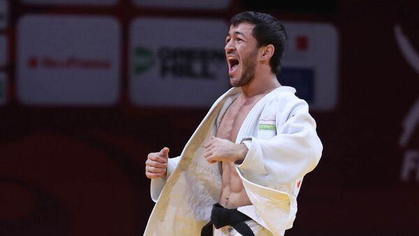 Шарофиддин Лутфуллаев – бронзовый призер Гран-при Тбилиси - Sputnik Узбекистан