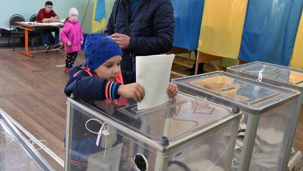 Президентские выборы на Украине - Sputnik Ўзбекистон